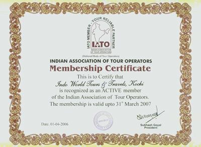 IATO-Certificate